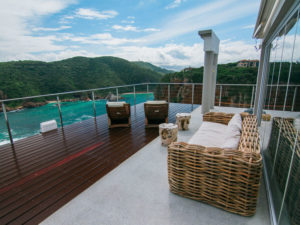 Elephant Honeymoon suite has its own private deck